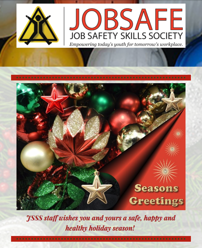 2017 December JobSafe newsletter