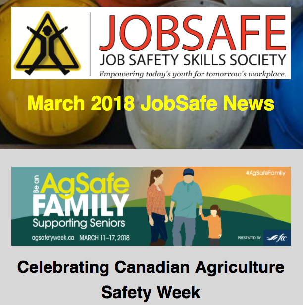 March 2018 JobSafe Newsletter