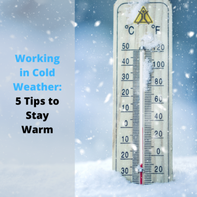working in cold weather tips